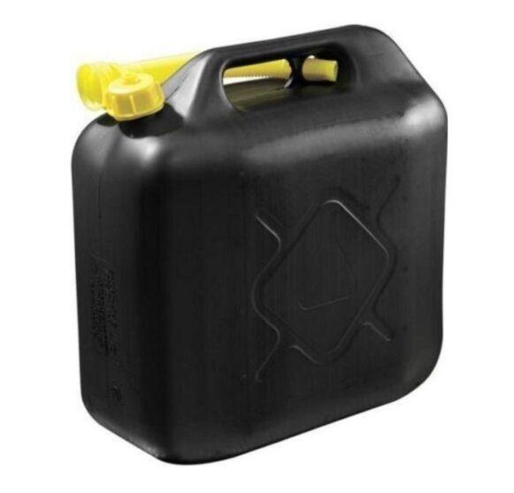 jerrycan brandstof 20ltr kunststof