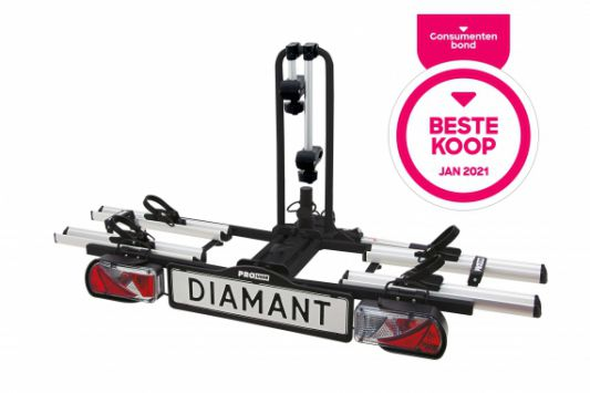 pro user bike carrier diamant 2x ebike